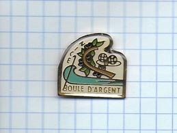 Pin's Pins PETANQUE BOULE D' ARGENT NICE - Pétanque