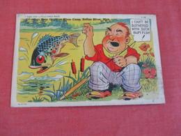 Humour Fishing   Ref 3062 - Humour