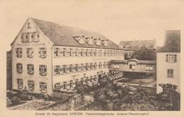 ALLEMAGNE - Rhénanie-Palatinat - SPEYER. Kloster St. Magdalena. Pensionatsgebäude - 1913 - Speyer