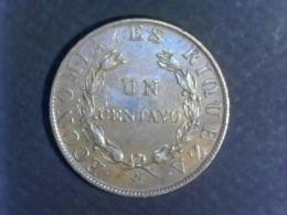 1851 Chili - 1 Centavo - Chile