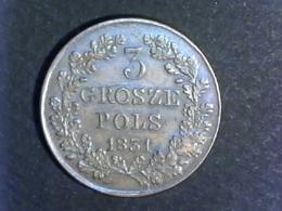 1831 Pologne - 3 Grozse - Polonia