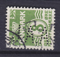 Denmark Perfin Perforé Lochung (J03) 'J.A.A.' J. A. Alstrup Aarhus  (2 Scans) - Abarten Und Kuriositäten