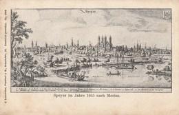 ALLEMAGNE - Rhénanie-Palatinat - SPEYER Im Jahre 1645. Nach Merian. - Speyer