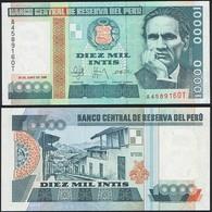 Peru P 140 - 10000 10.000 Intis 28.6.1988 - UNC - Perù