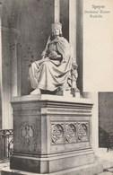 ALLEMAGNE - Rhénanie-Palatinat - SPEYER. - Denkmal Kaiser Rudolfs. Lautz & Balzar, Darmstadt N° E 19467 - Speyer