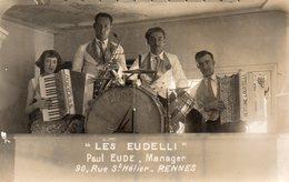 RENNES Les EUDELLI Paul Eude Manager (carte Photo) - Rennes