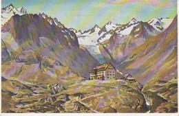 AK Neustift - Stubai - Franz-Senn-Hütte - Alpenverein - Künstlerkarte - Feldpost 1943 (36455) - Austria
