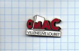 Pin's Pins  Office Municipal Des Affaires Culturelles OMAC Villeneuve LOUBET - Associations