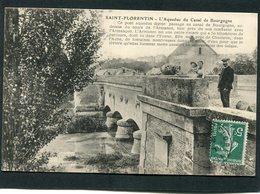 CPA - SAINT FLORENTIN - L'Aqueduc Du Canal De Bourgogne, Animé - Saint Florentin