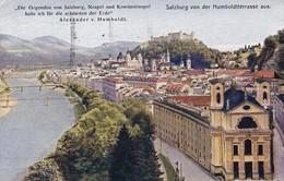 AK Salzburg Von Der Humboldtterrasse Aus - 1931 (36457) - Salzburg Stadt
