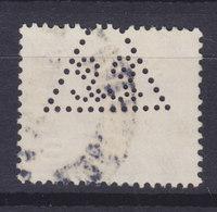 Denmark Perfin Perforé Lochung (L46) 'LL In Triangle' Lund & Lawerentz A/S København - Abarten Und Kuriositäten