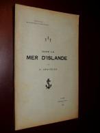 P. GIQUELLO - Dans La Mer D'Islande - Vannes 1901 - Libros, Revistas, Cómics