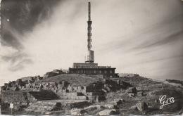 CAP 63 SOMMET DU PUY DE DÔME Vue D'ensemble Est - Tour R.T.F. Avec Ruines Du Temple De Mercure 1962 - France
