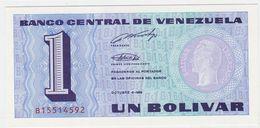Venezuela P 68 - 1 Bolivar 5.10.1989 - UNC - Venezuela