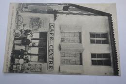 CHIZE   CAFE  DU  CENTRE    TENU  PAR   LOUSTAU - Autres Communes