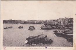 F64-021 BIARRITZ - VUE GENERALE SUR LE GRAND HÔTEL ET LES CASINOS - Biarritz