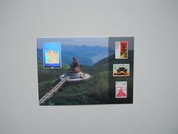 Postal Stationery, Buddha, Hologram - Buddhism