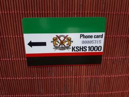 Phonecard Kenia KSHS 1000 Used Rare - Kenya