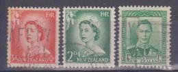 1938-54 Nuova Zelanda - Elisabetta II E Giorgio VI - Non Classificati