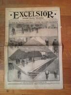 Excelsior - Le Tour De France Cycliste : L'étape Belfort - Chamonix . 9 Juillet 1912 . - Journaux - Quotidiens