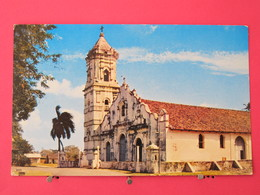 Visuel Pas Très Courant - Panama - Nata - La Iglesia - Scans Recto-verso - Panama