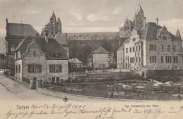 ALLEMAGNE - Rhénanie-Palatinat - SPEYER. -Kgl. Kreisarchiv Der Pfalz. Ed. Theile, Speyer 9 5 04 - Speyer