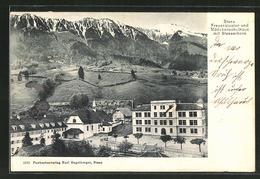 CPA Stans, Frauenkloster Et Filleschulhaus Avec Stanserhorn - NW Nidwalden