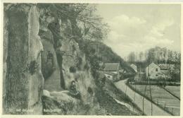 Het Geuldal 1933; Rotsgezicht - Gelopen. (Drukkerij Crolla - Valkenburg) - Autres
