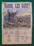 Affiche Première Guerre Mondiale - Hardi Les Gars ! - Nous Les Vaincrons ! Vive La France ! - Posters