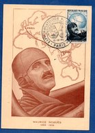 Carte / Expo Philatélique Du Bimillénaire 1951 / Maurice Noguès / Paris - Maximum Cards