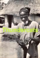 CPSM PHOTO GUINEE MISSION DE MACENTA TYPE DE VIEUX - Guinée