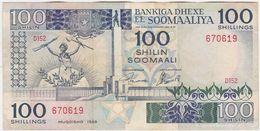 Somalia P 35 C - 100 Shilin Shillings 1988 - VF - Somalie