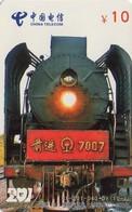 TARJETA TELEFONICA DE CHINA. TRENES. (004) - Trains