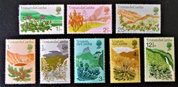FLEURS 1972 - NEUFS ** - YT 162/67 + 170/71 - Tristan Da Cunha