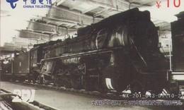 TARJETA TELEFONICA DE CHINA. TRENES. (008) - Trains
