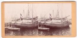 Photo Stéréoscopique - Danemark - Helsingör - Entre 1878 Et 1905 - Photos Stéréoscopiques