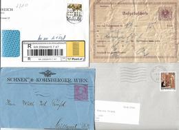 1600j: Österreich- Belegesammlung Diverses Auf 3 Scans - Austria