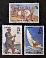 CHALOUPES 1972 - NEUFS ** - YT 174 + 176/77 - Tristan Da Cunha