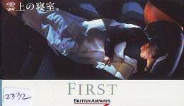 Télécarte  JAPON * 110-015 * BRITISH AIRWAYS (2332)  Airplane * Flugzeug AVION * AIRLINE * Phonecard JAPAN - Airplanes