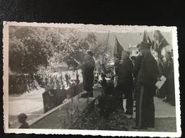 VILLA DECANI-(CAPODISTRIA)-LEVA FASCISTA-1936 - Guerre, Militaire