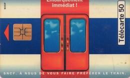 TARJETA TELEFONICA DE FRANCIA. TRENES. (029) - Trains