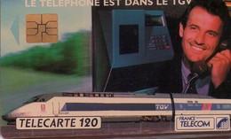 TARJETA TELEFONICA DE FRANCIA. TRENES. (030) - Trains