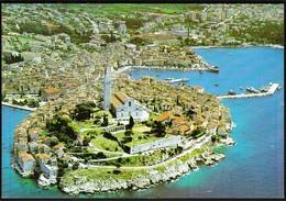Croatia 1993 / Rovinj / Panorama, Church - Croacia