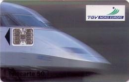 TARJETA TELEFONICA DE FRANCIA. 50 UNITS, TGV. TRENES. (031) - Trains