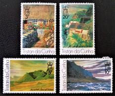 PEINTURES DE ROLAND SVENSSON 1976 - NEUFS ** - YT 208/11 - MI 209/12 - Tristan Da Cunha