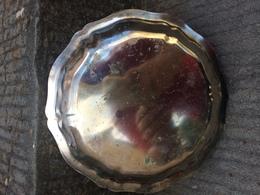 Centrotavola Portacioccolatini Vintage In Sheffield (?) Sbalzato Fruttiera - Silverware