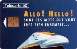 TARJETA TELEFONICA DE FRANCIA. EUROSTAR. TRENES. (033) - Trains