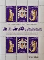 ANNIVERSAIRE DU COURONNEMENT DE SA MAJESTE ELIZABETH II 1978 - FEUILLET NEUF - YT 233/35 - MI 238/40** - YT - Tristan Da Cunha
