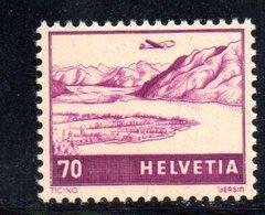 146/1500 - SVIZZERA 1941 , Posta Aerea   Unificato N. 31  ***  MNH - Nuovi