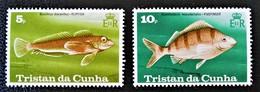 POISSONS 1978 - NEUFS ** - YT 244/45 - MI 245/46 - Tristan Da Cunha